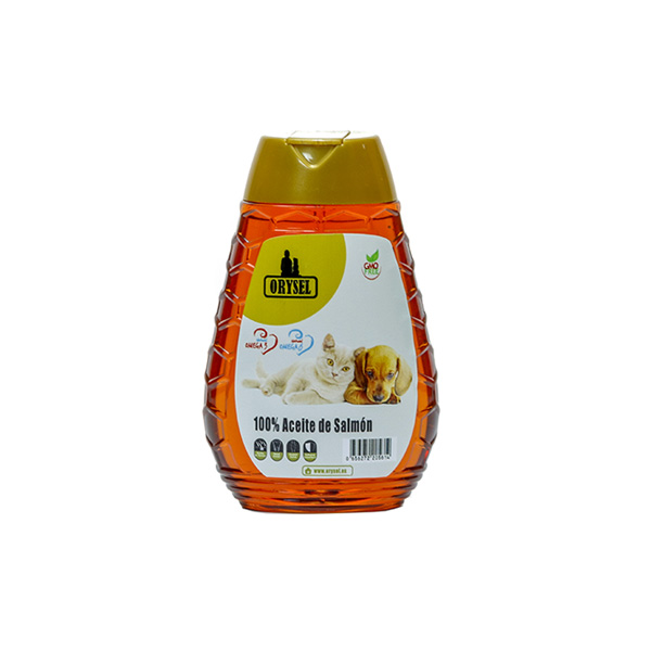 Aceite de salmón Orysel 250 ml imagen principal bote
