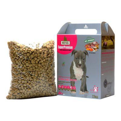 Pienso Orysel Cachorros todas las razas 2,5 kg imagen principal caja